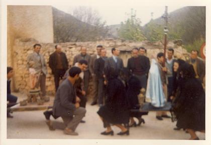 procesión en Blesa, Teruel
